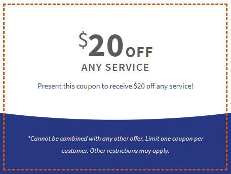 $20 Off Any Service Coupon