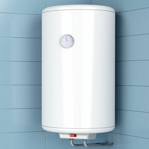 Water heater in the bathroom
